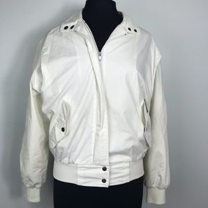 Vintage White Members Only Jacket Women's